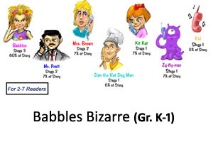 Babbles Bizarre Reader's Theater Product