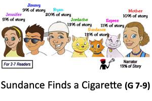 Sundance Cigarette Reader's Theater Product