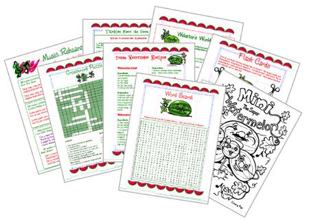 Supplemental Worksheets for Assessment and Comprehension